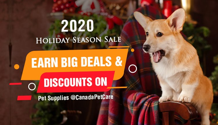 Holiday Season Sale on Pet Supplies